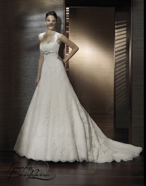 San patrick caspio fitted a line wedding dress for Sell wedding dress san diego