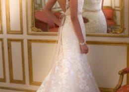 5932 stella york wedding dress timeless bridalwear back