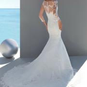 Donna Salado 'Mimosa'_Timeless Bridalwear_back full