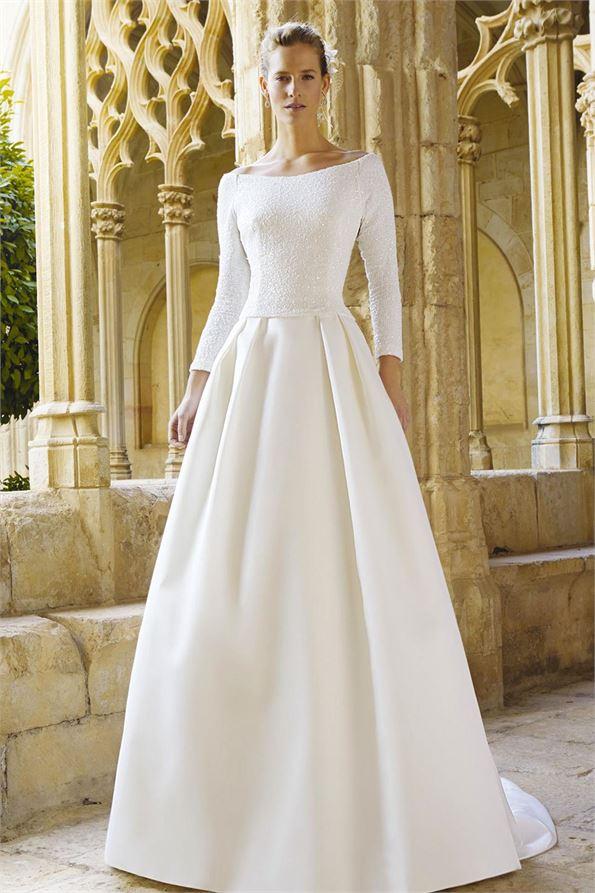 Raimon Bundo Classic Timeless Dress Affordable Wedding Dress
